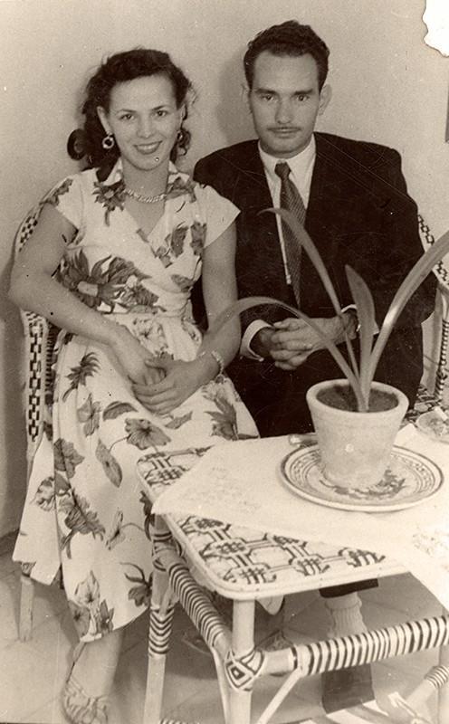 Fina Barreto y Marcelino García