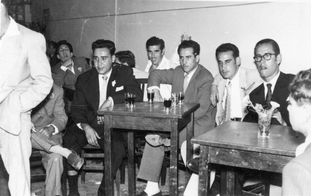 En el bar Teide II