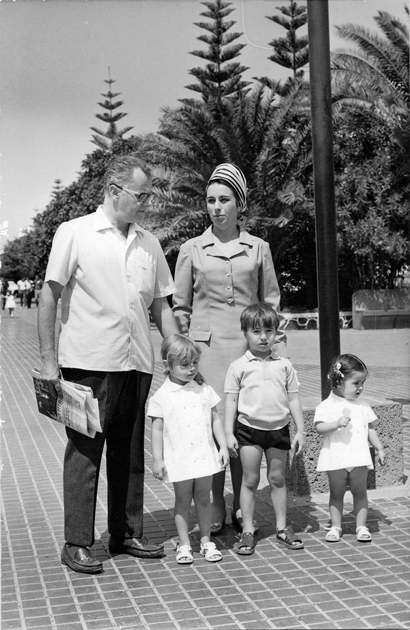 Familia de Guillermo Topham