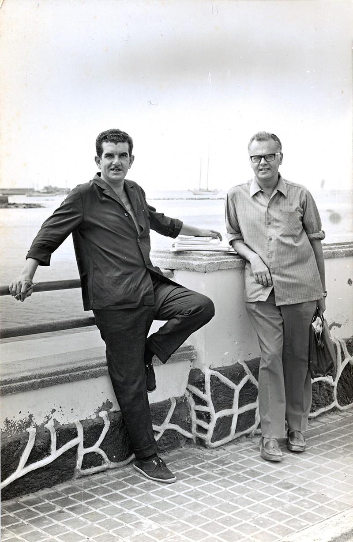 Guillermo Topham y Agustín de la Hoz