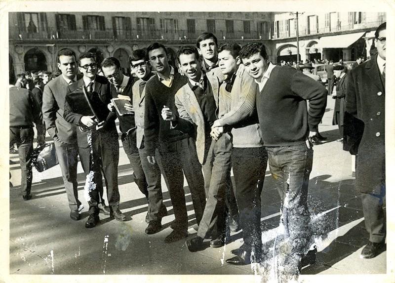 Estudiantes en Salamanca