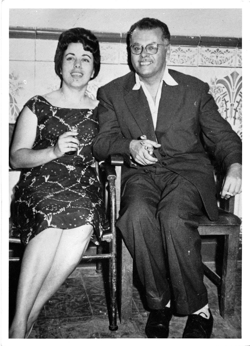 Guillermo Topham y Celia Camejo