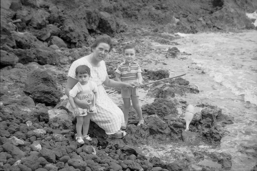 Familia en La Garita