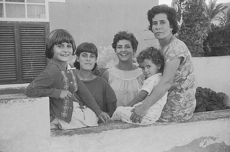 Eugenia González e hijas