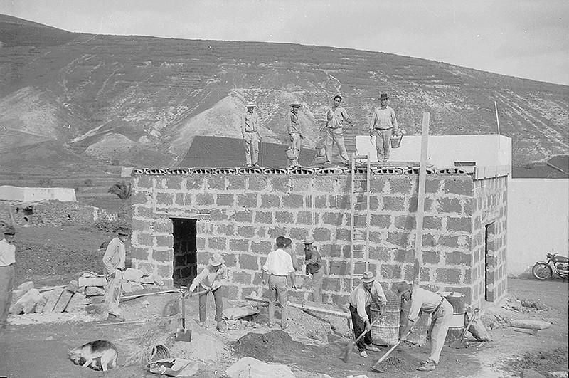 Construcción en Tabayesco