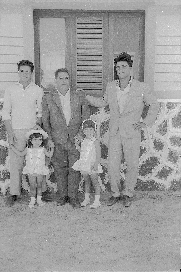 Familia de Caleta del Sebo