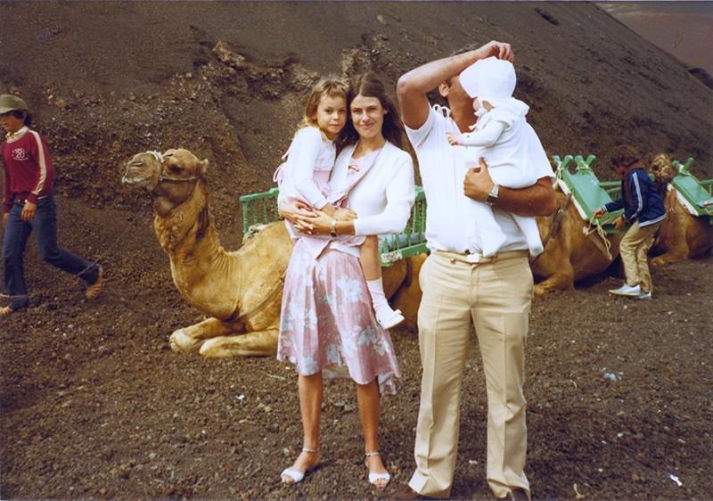 Familia en las Montañas del Fuego