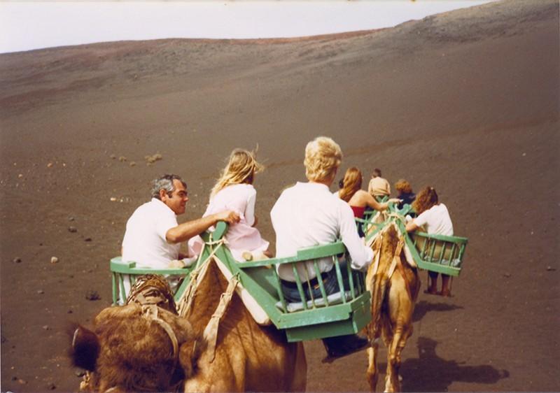 Familia en las Montañas del Fuego I
