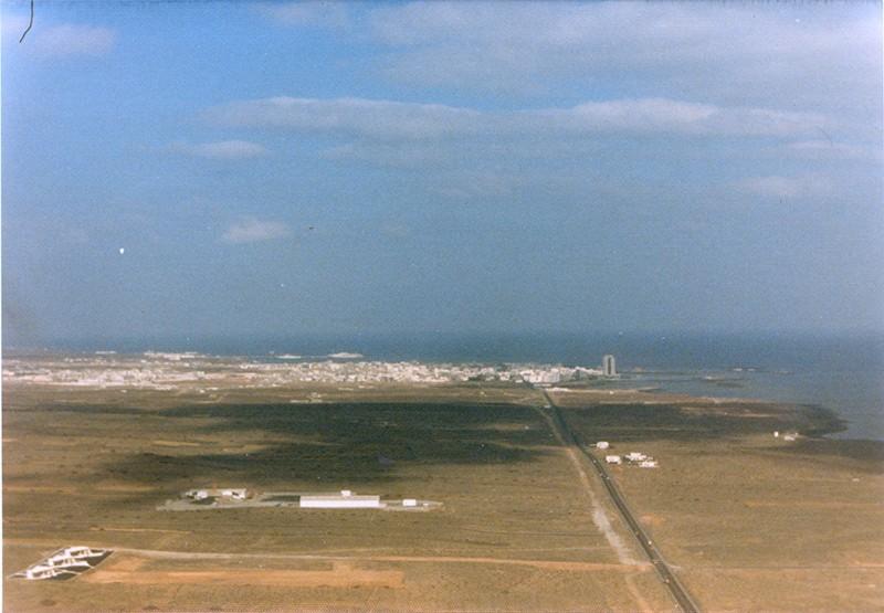 Imagen aérea de Playa Honda
