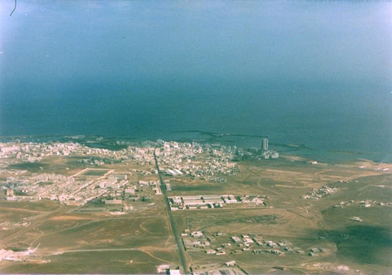 Imagen aérea de Arrecife