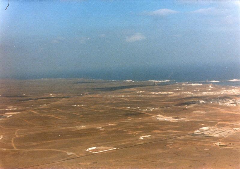 Fotografía aérea de Argana