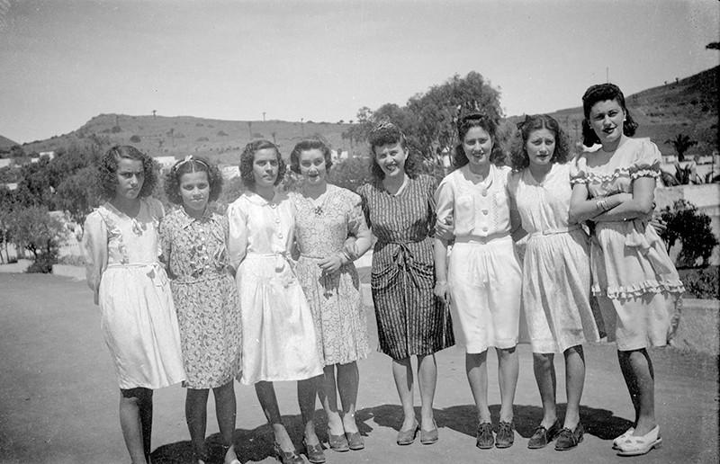 Muchachas de Máguez en Haría