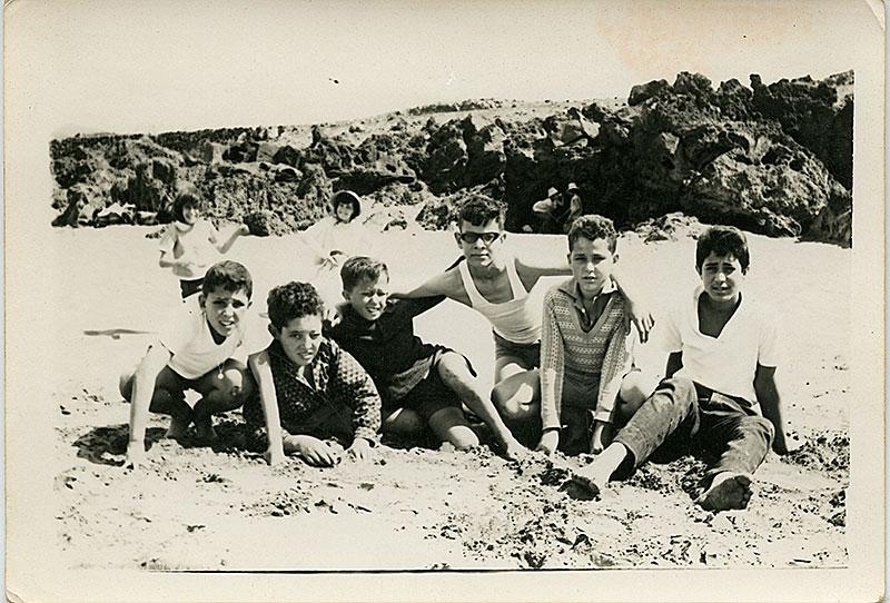 Amigos en Playa Grande
