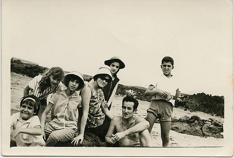 Retrato en Playa Grande