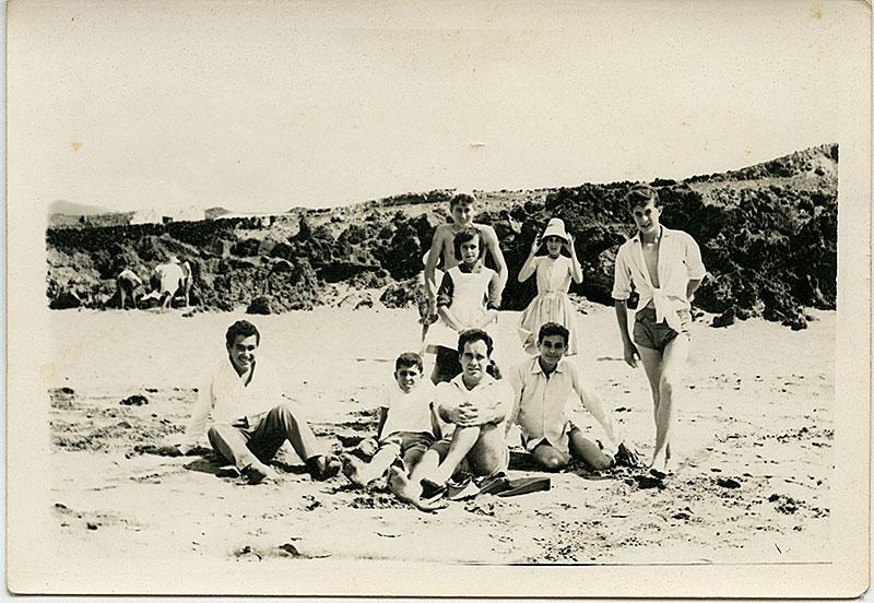 Amigos en Playa Grande I