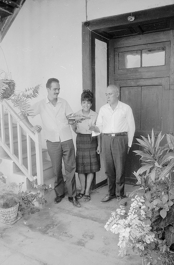 Familia de Víctor Navarro