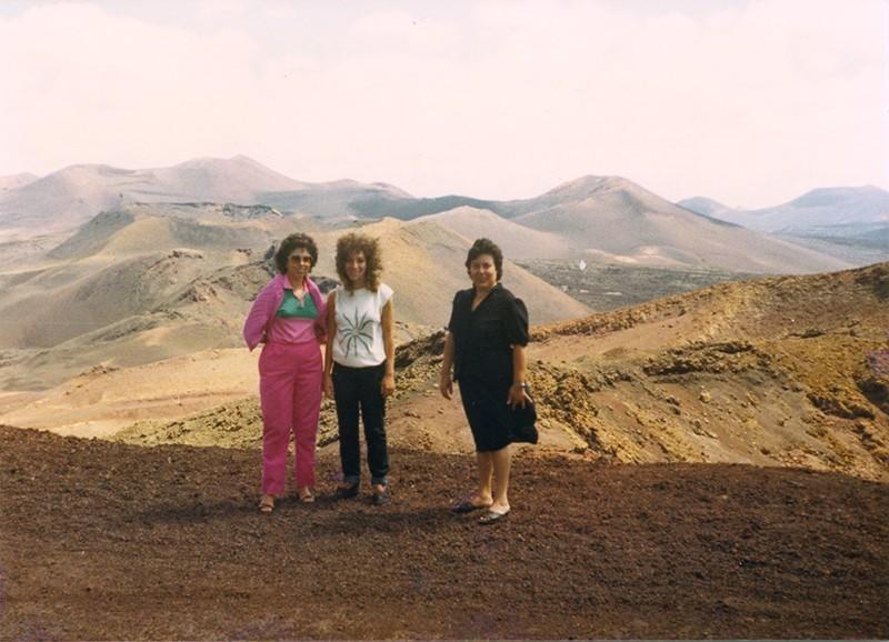 Retrato en las Montañas del Fuego