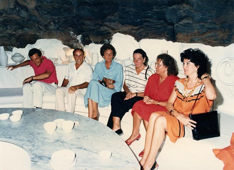 Familia Suárez en  el Taro de Tahíche