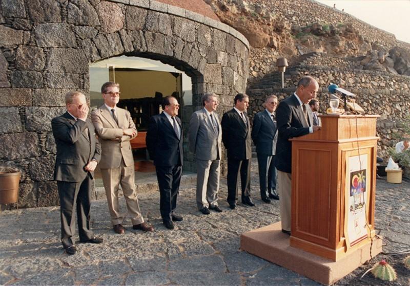 Inauguración del Jardín de Cactus I