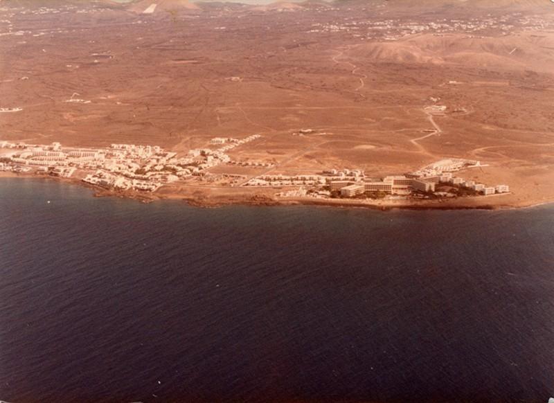 Fotografía aérea de Puerto del Carmen