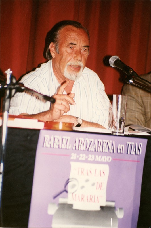 Homenaje a Rafael Arozarena