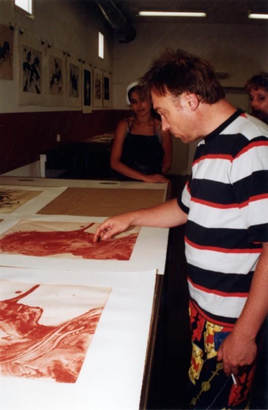 Miquel Barceló en Lanzarote