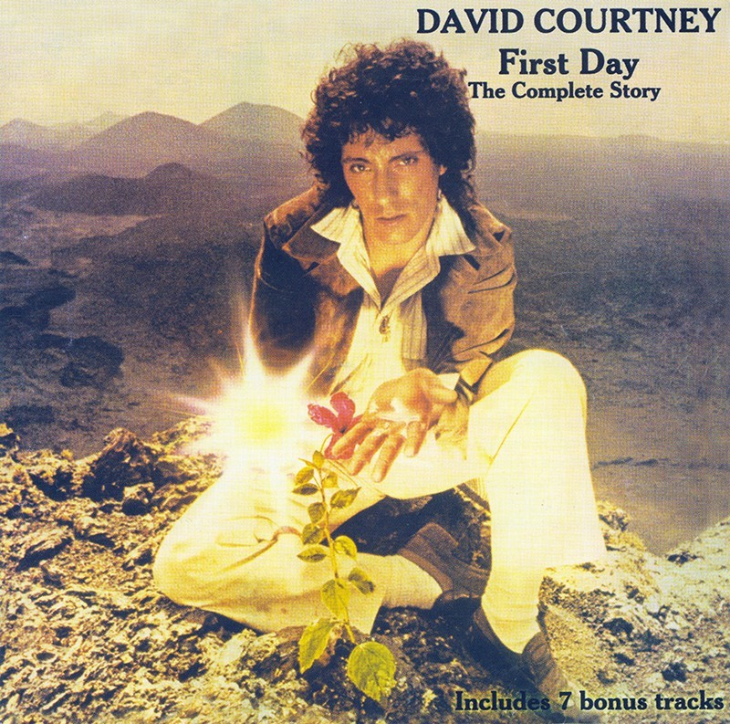 Portada del álbum David Courtney