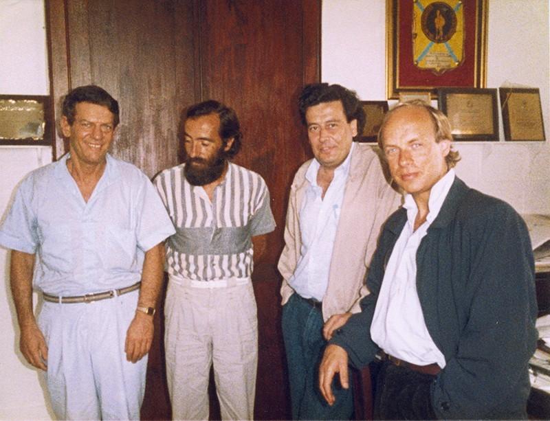 Brian Eno en Lanzarote I
