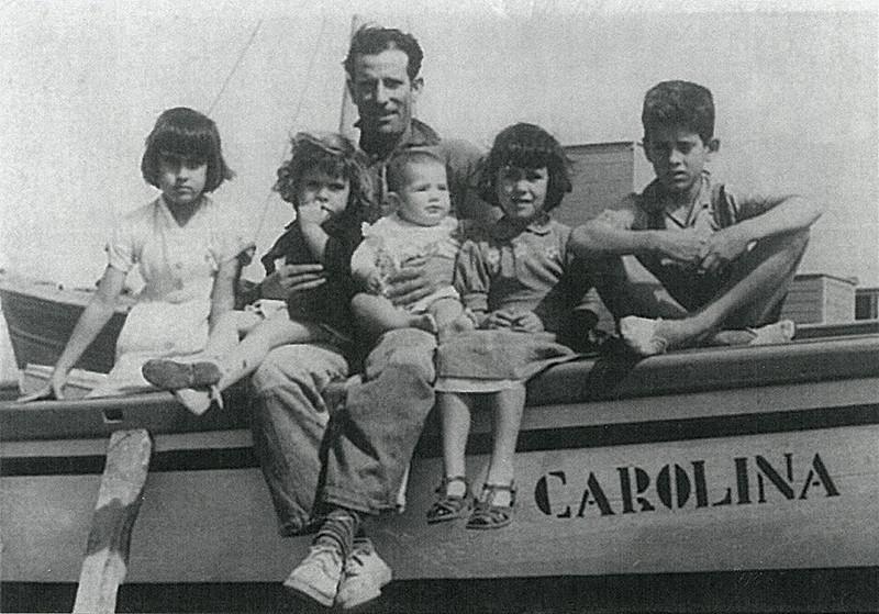 Felipe Corujo e hijos