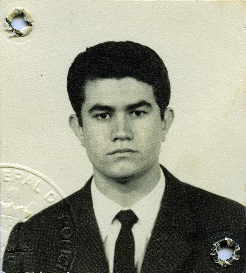 Pasaporte de Marcial Martín
