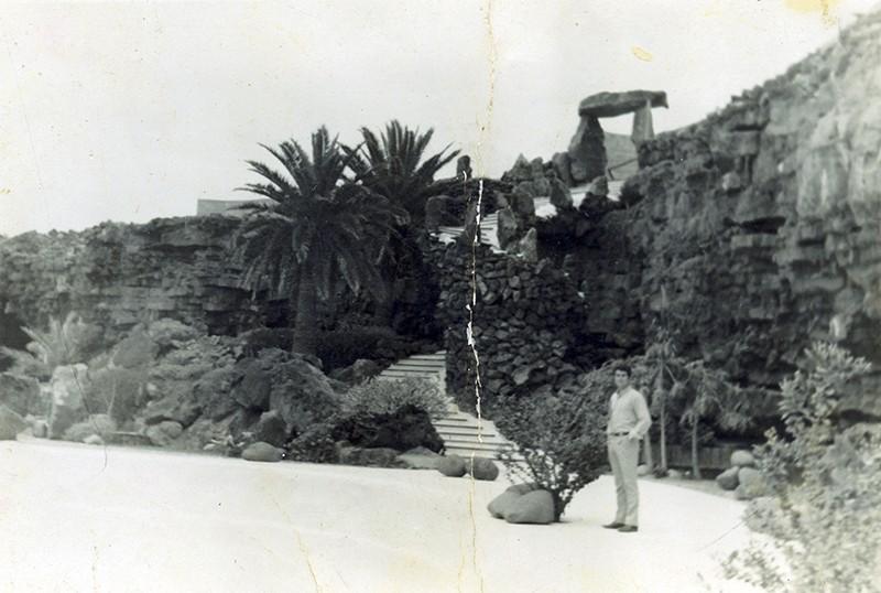 Marcial Martín en Jameos del Agua