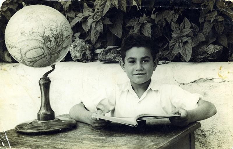 Retrato escolar de Marcial Martín