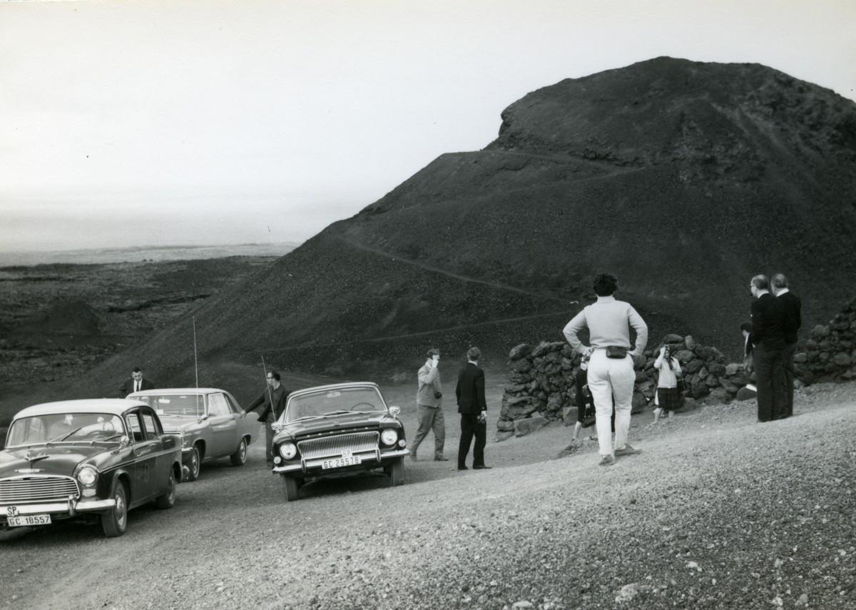 Turistas en las Montañas del Fuego I