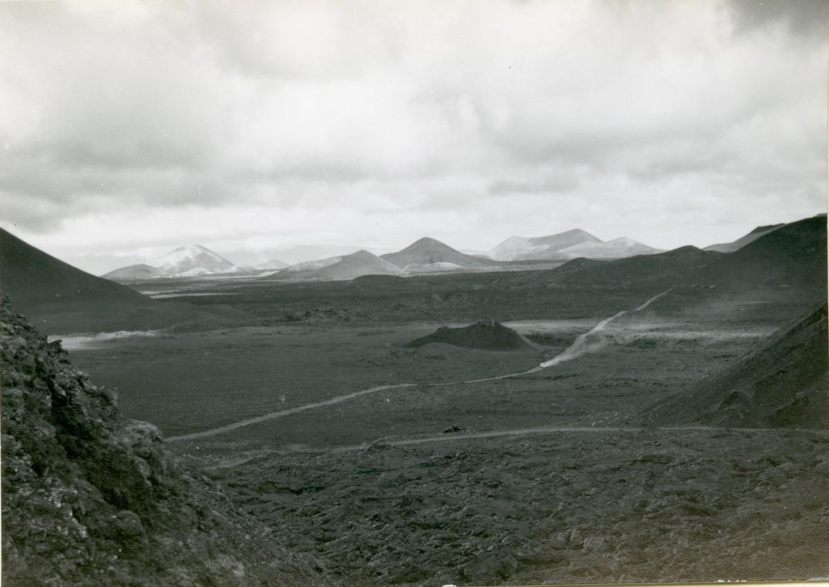 Vistas de las Montañas del Fuego II