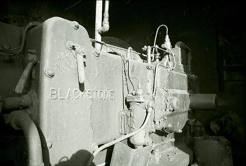 Motor abandonado
