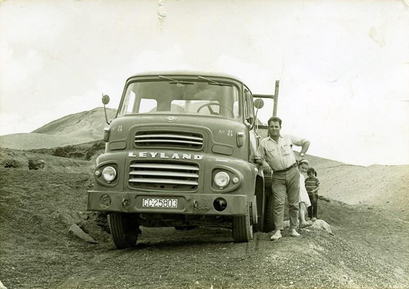 Antiguos camiones del Cabildo