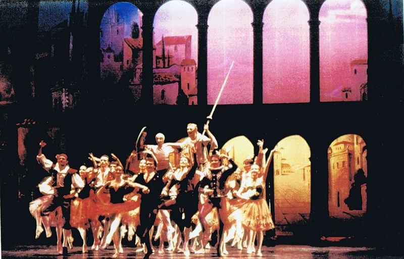 """Representación de """" El Quijote"""""""