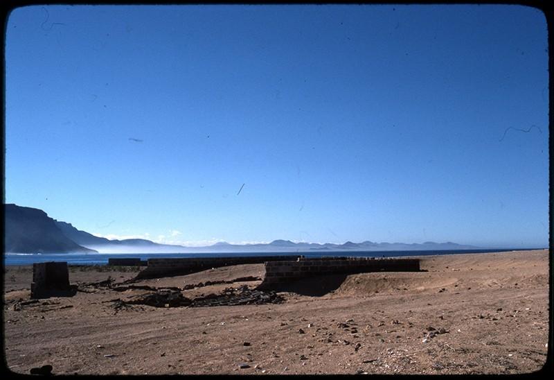Final del pueblo de Caleta de Sebo