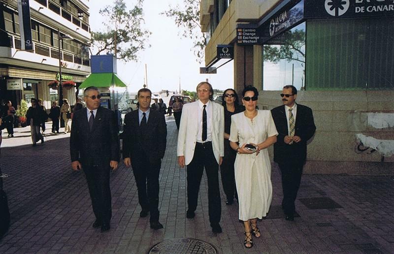 Visita del cosmonauta Serguéi Avdéyev a Lanzarote II