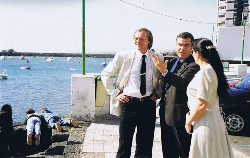 Visita del cosmonauta Serguéi Avdéyev a Lanzarote VI
