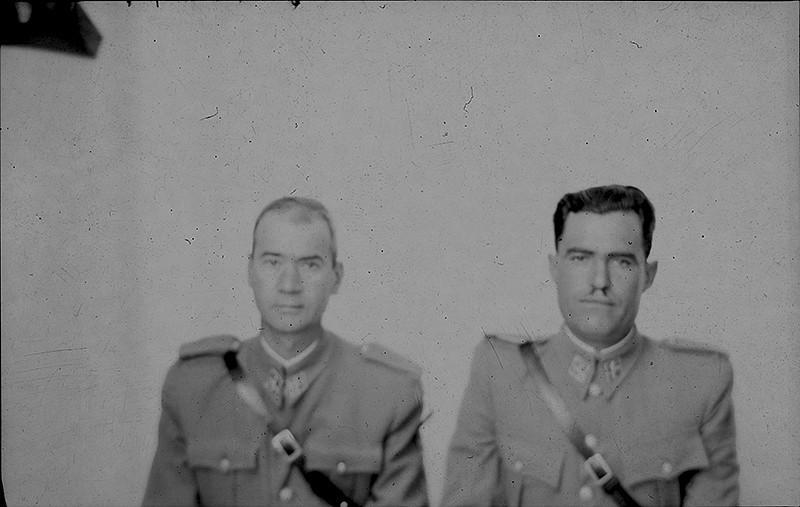 Pareja de la Guardia Civil