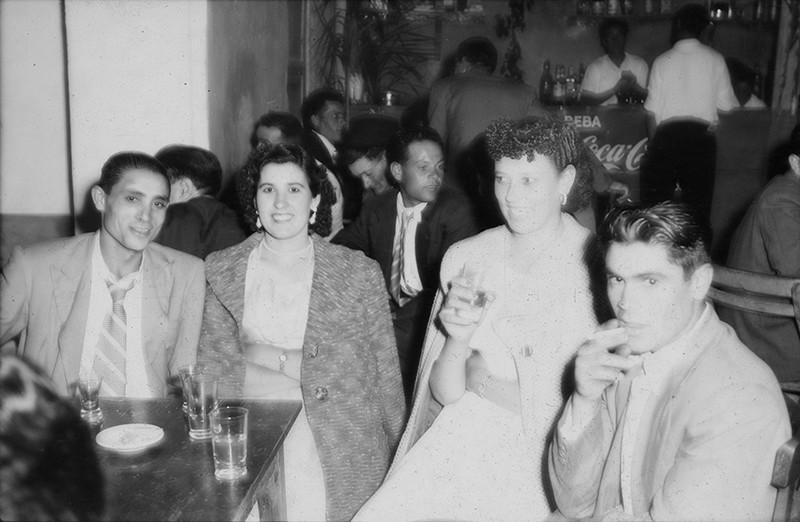 Jóvenes en un baile de Haría I