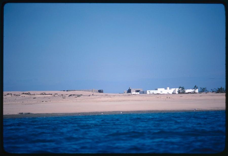 Caleta de Sebo desde el mar I