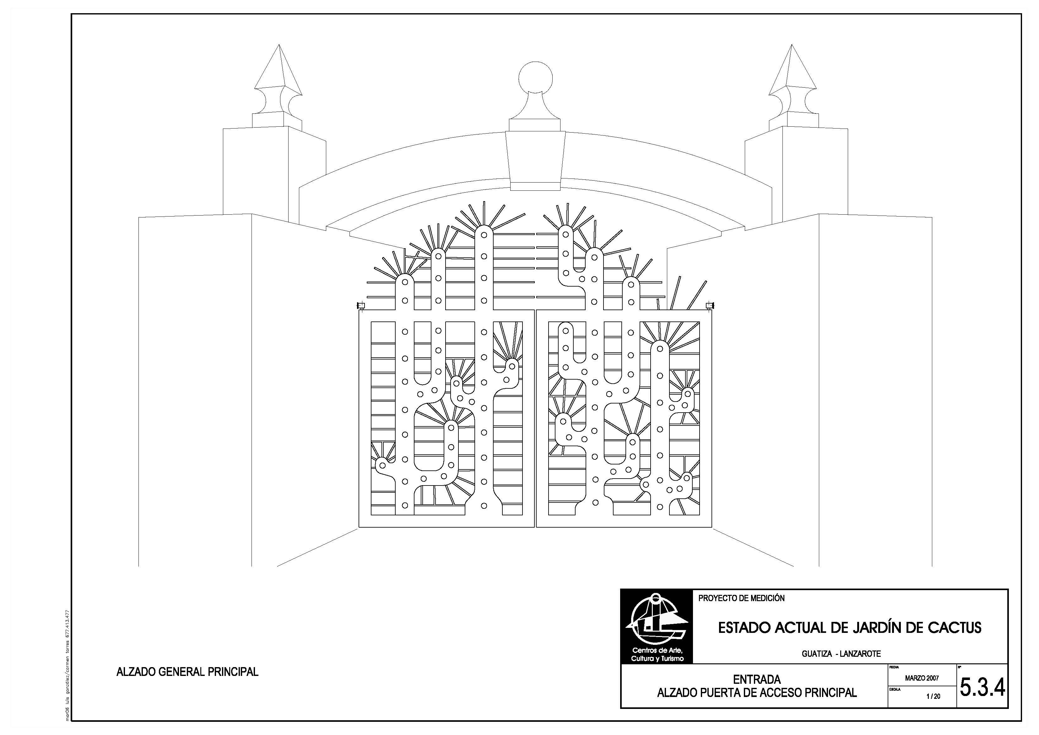 Puerta del Jardín de Cactus