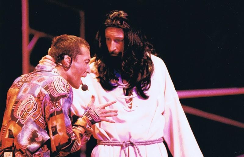 Representación de Jesucristo Superstar en Jameos del Agua I