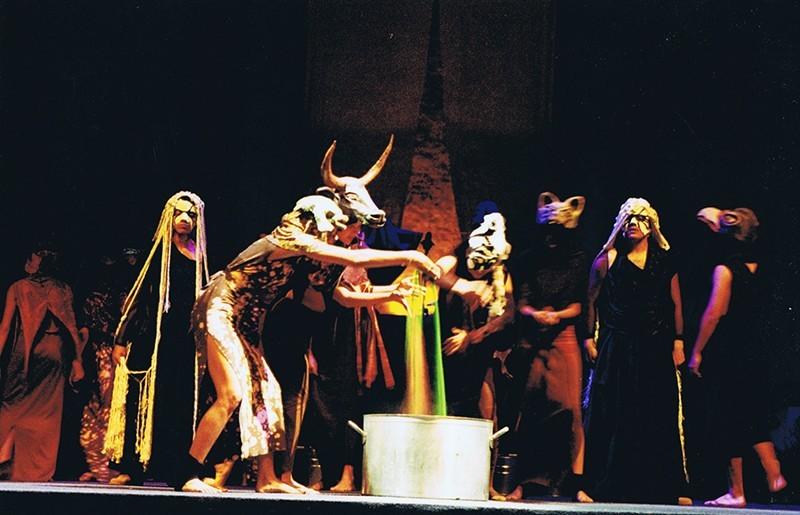 """Representación de  la ópera """"Dido y Eneas"""" I"""