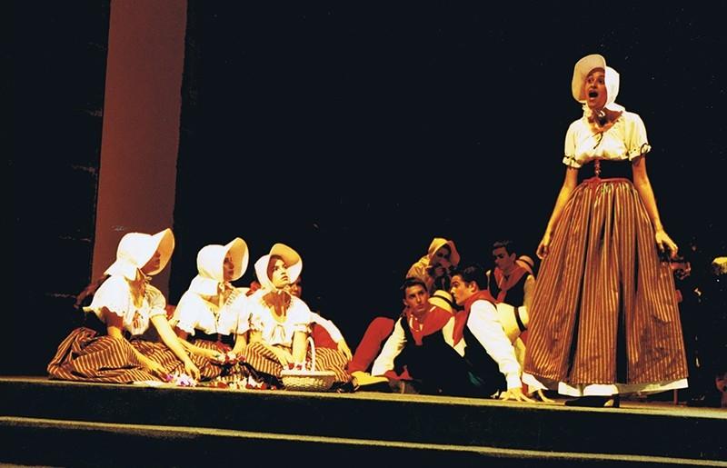 """Representación de  la ópera """"Dido y Eneas"""" IV"""