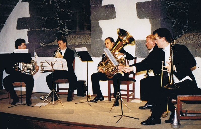 Concierto de The Canarian Brass
