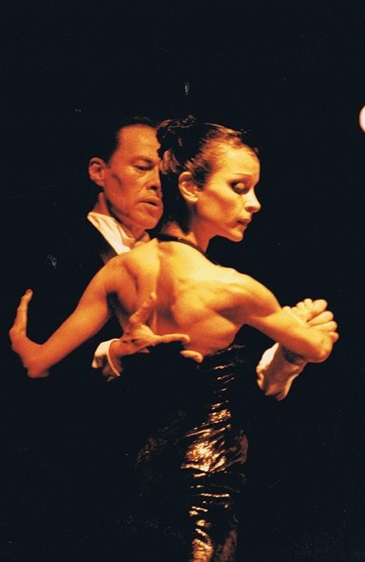 "Representación del espectáculo ""Tango Vals Tango"" IX"