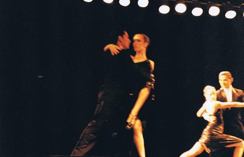 """Representación del espectáculo """"Tango Vals Tango"""" VIII"""